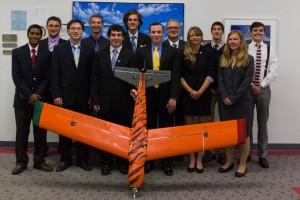 2014 Aero Academy with their UAV, TIGRESS