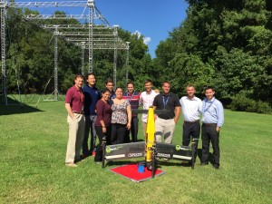 Left to right: MARTI 2015 with NASA engineer, Bill Fredericks, Henry Kwan, Derya Tansel, Zack Bassett, Melinda Darrow, Perter Finch, Matt Holdren, David Vutetakis, Alex Flock, Adam Bass